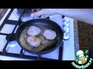 Как готовить Морской гребешок обжаренный рецепт приготовления с фото