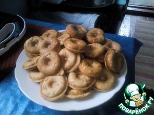 Рецепт Яблочные коржики в бутерброднице