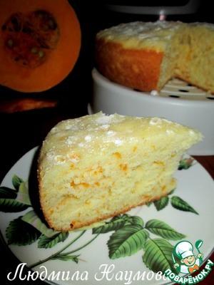Рецепт Тыквенный пирог в мультиварке