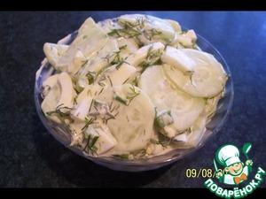 Салат весенний простой пошаговый рецепт приготовления с фото