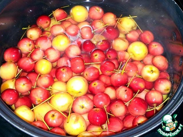 компот на зиму из яблок китайка