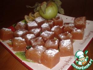 Рецепт Яблочно-апельсиновый мармелад в мультиварке
