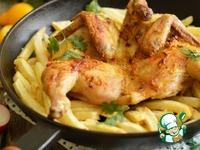 Ароматный цыпленок с жареным картофелем ингредиенты