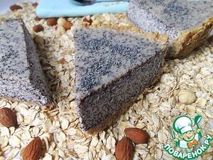 Рецепт Сметанный пирог с маком и овсяными хлопьями