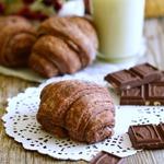 Шоколадные круассаны