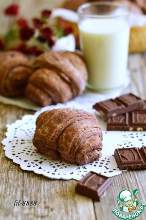 Рецепт Шоколадные круассаны