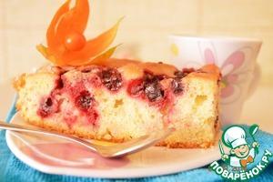 Рецепт Апельсиново-смородиновый пирог