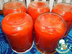 Рецепт Маринованый перец в томатном соусе