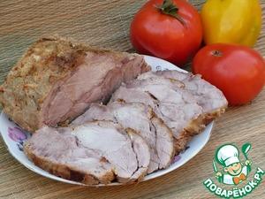 Рецепт Свинина, шприцованная сливками