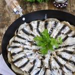 Запеканка из свежей тюлечки с картошкой-Tortino di alici