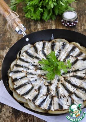 Рецепт Запеканка из свежей тюлечки с картошкой