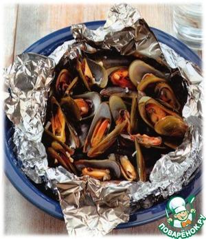Мидии по-азиатски вкусный рецепт приготовления с фото