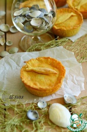 Рецепт Пироги с креветками и рыбой