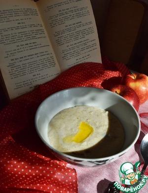 Рецепт Завтрак по мотивам «Габерсупа»