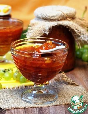 Рецепт: Конфитюр из зеленого винограда