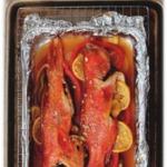 Рыба с лимоном и имбирем
