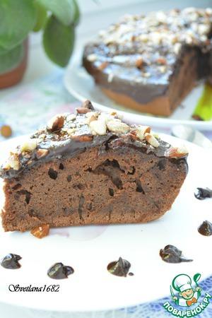 Рецепт Шоколадный пирог на кефире в мультиварке