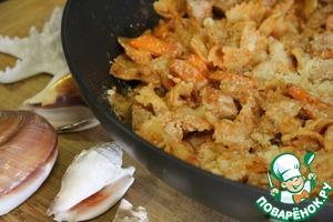 Рецепт Тунец с макаронными изделиями