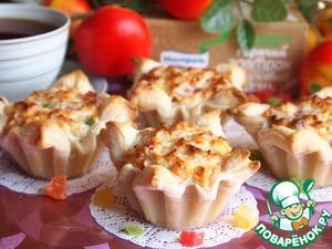Как готовить домашний рецепт приготовления с фотографиями Творожно-злаковые корзиночки с цукатами