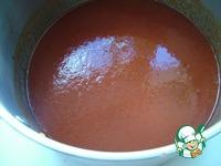 Быстрое томатное пюре, заморозка ингредиенты