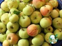 """Яблоки""""Для мужа"""" ингредиенты"""