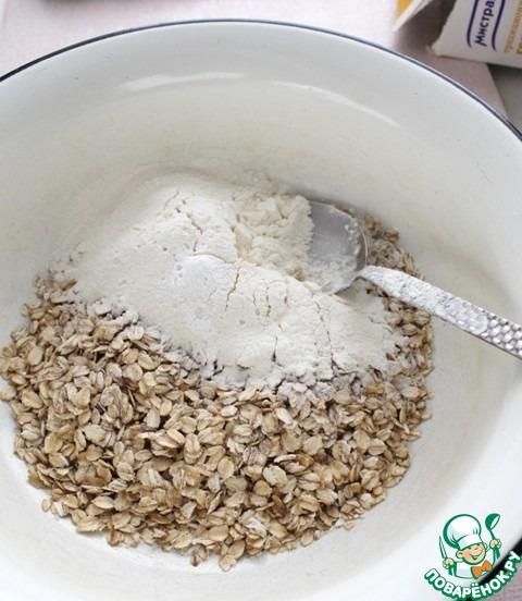 Хрустящее овсяное печенье рецепт с фото