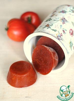 Рецепт Быстрое томатное пюре, заморозка
