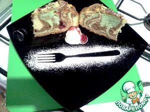 Рецепт Радужный пирог с яблоками от д. Юры