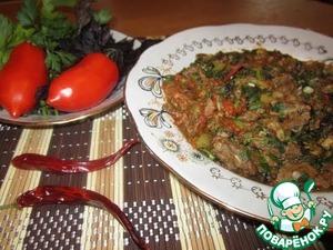 Рецепт Чашушули. Грузинская кухня