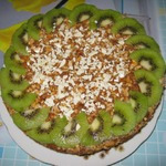 Пирог с халвой и арахисом в мультиварке