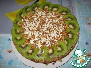 Рецепт Пирог с халвой и арахисом в мультиварке