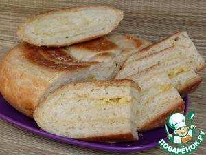 Рецепт Хлеб с чесноком и сыром