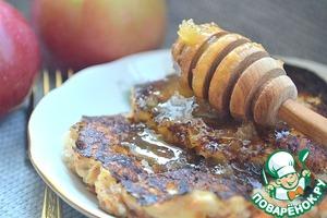 Рецепт Гречневые оладьи с морковью и яблоком