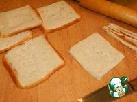 Горячие бутерброды-трубочки ингредиенты
