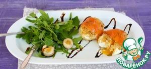 Рецепт Яйца в рубашке с лососем