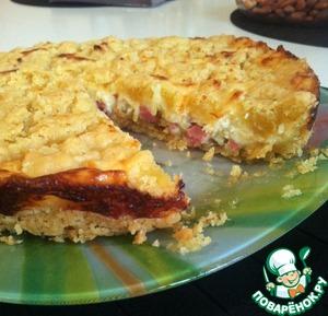 Рецепт Неожиданный шедевр или луковый пирог с сыром