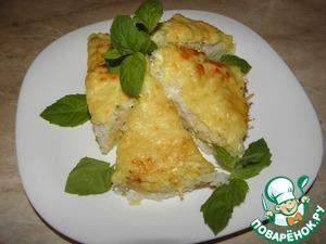 Рецепт Рыбная запеканка с кабачками и рисом