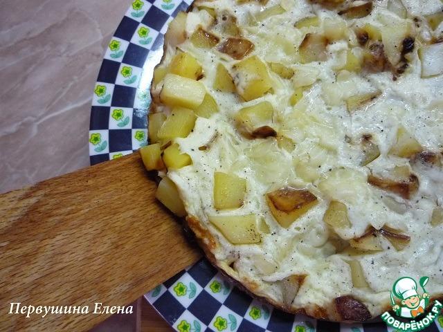 Тортилья из картофеля рецепт с пошагово