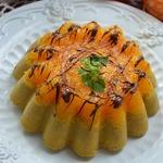 Кофейный пирог с мандаринами