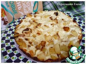 Рецепт Картофельная тортилья с рисовыми хлопьями