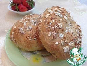 Мультизлаковые хлебцы по мотивам Petits pains простой рецепт с фотографиями готовим
