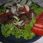 Салат из баранины по-тайски