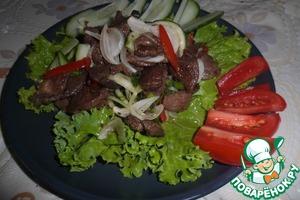 Рецепт Салат из баранины по-тайски