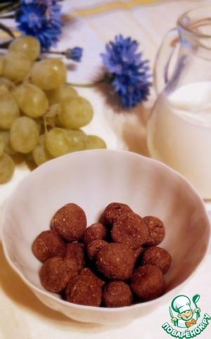 Домашние шоколадные шарики на завтрак
