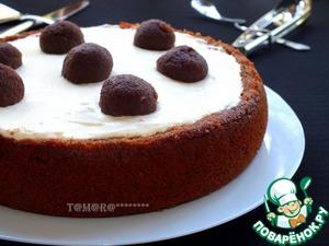 """Рецепт Творожный торт """"Черный трюфель"""""""
