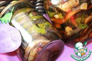 Рецепт Баклажаны с дымком, маринованные