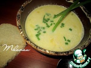 Рецепт Картофельный суп с плавленым сыром