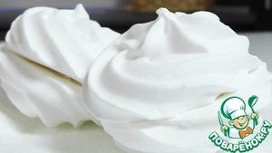 Рецепт Зефир ванильный без яиц
