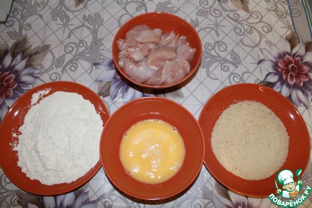 Наггетсы в домашних условиях рецепт с пошагово