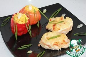 Рецепт Отбивные с ананасом